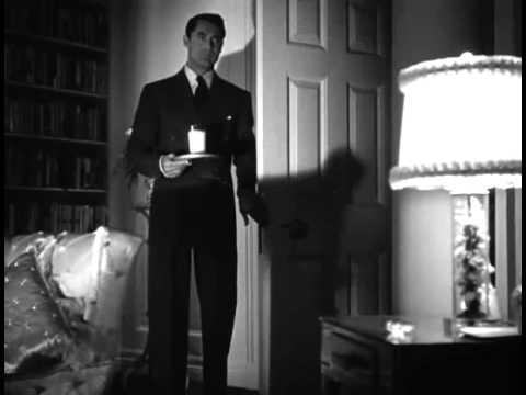 Suspicion 1941 Milk scene Cary Grant Joan Fontaine - YouTube
