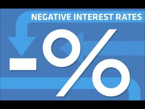 What does 'negative interest rates' mean and will the policy work?
