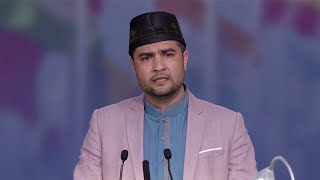 Urdu Nazm by Nadeem Zahid Chughtai at Jalsa Salana UK 2016