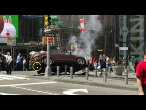 Car Drives Into Pedestrians at New York