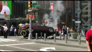 Car Drives Into Pedestrians at New York