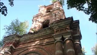 Заброшенный храм в Курышине