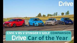 2017 Type R, Golf R, Focus RS, Stinger 330Si | Best Performance Car Under 60k
