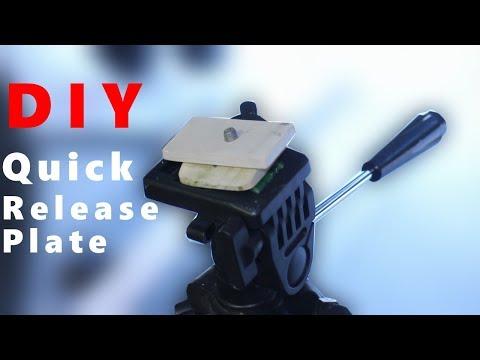 DIY Quick Release Tripod Plate