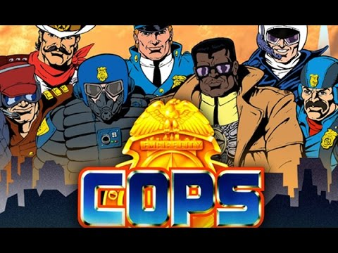 C.O.P.S The Animated Series Pilot Episode review. UW+R