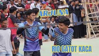 Detik2 ARJUNA MAHENDRA & RIO GATOT KACA pemain muda belia masuki lapangan grogol brebes