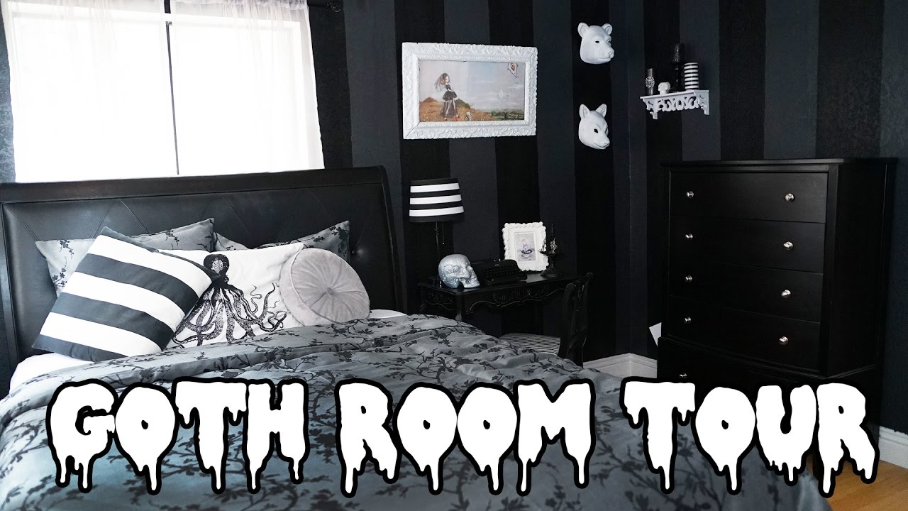 Steamfaerie Home Makeovers Goth Room Tour