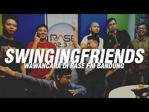 Swinging Friends / Kelas Mocca On Air at RASE FM Bandung