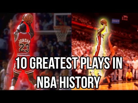 10 Most ICONIC In-Game Moments In NBA History