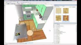 Работа в Pro100(разработка мебели)