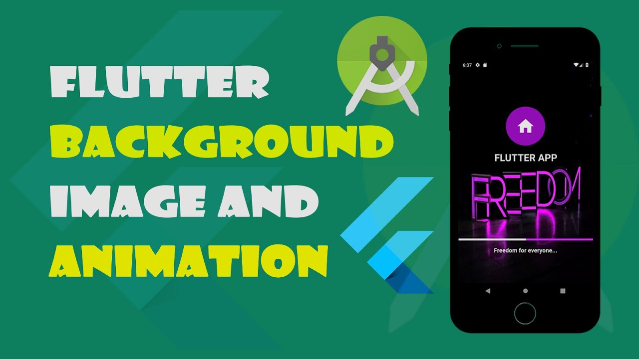 Flutter Tutorial: StartPage with Background Image And ProgressIndicator  (2019)
