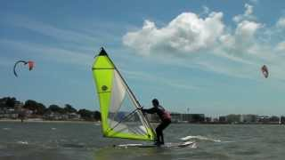 Improver Windsurfing Lessons - Tacking