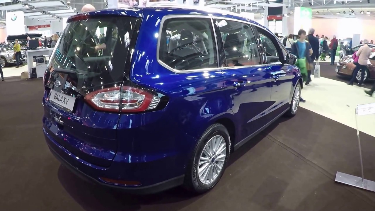 FORD GALAXY TITANIUM !! INDIC BLUE COLOUR !! WALKAROUND ...