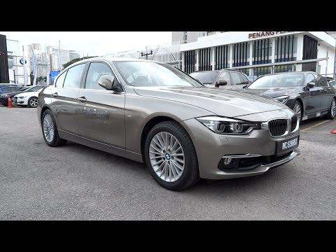 2016 BMW 318i Luxury Line Start-Up and Full Vehicle Tour