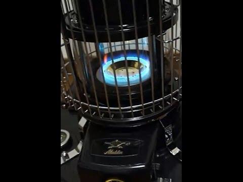 Aladdin Blue Flame Kerosene Heater Series39 Youtube