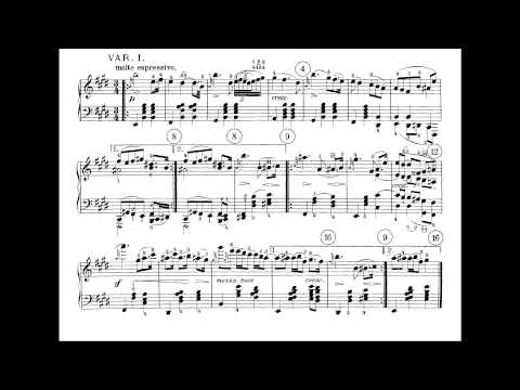 Beethoven - Piano Sonata No. 30 in E major, Op. 109 (Artur S