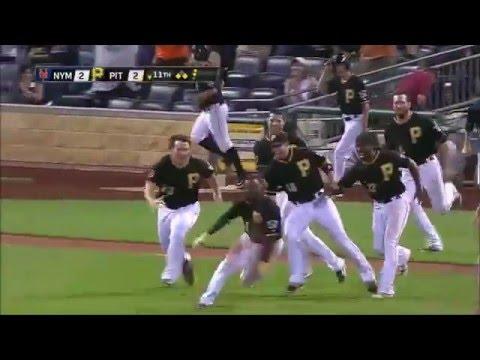 Pittsburgh Pirates 2014 Walk offs