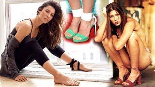 Jessica Biel feet barefoot piedi nudi