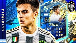 WORTH THE PURCHASE?! 94 TEAM OF THE SEASON DYBALA REVIEW!! FIFA 20 Ultimate Team
