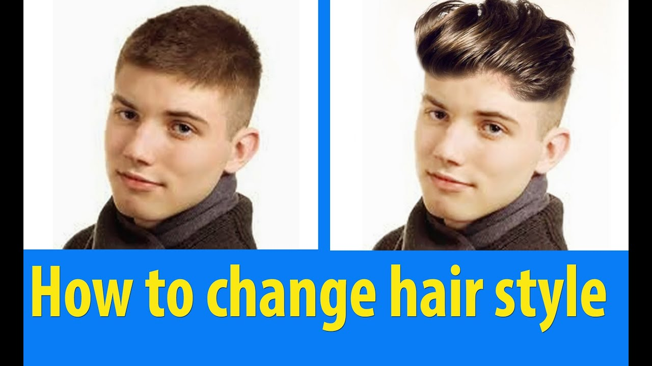 change of hair style how to change hair style picsart editing tutorial 7527