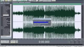 Umgang von Adobe Audition 1,5 - Wie man damit umgeht! German