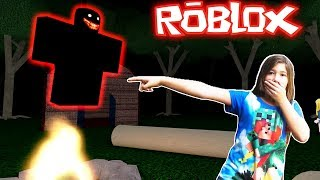 ROBLOX-The MOST DANGEROUS MONSTER APPEARED in the HAUNTED CAMP OF THE CHILDREN (Camping)