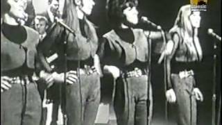 The Shangri Las - Give Him A Great Big Kiss 60s