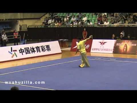 Li Rong Xi (Army) - Daoshu [2012 China Mens Wushu Nationals]