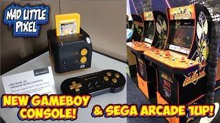 New HD Game Boy Console RetroN Jr. & A Sega Arcade 1Up With Golden Axe & Shinobi!