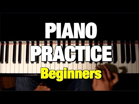SIMPLE TRICKS TO DEVELOP AN AWESOME PIANO TECHNIQUE - PIANO TUTORIAL (PRACTICE)