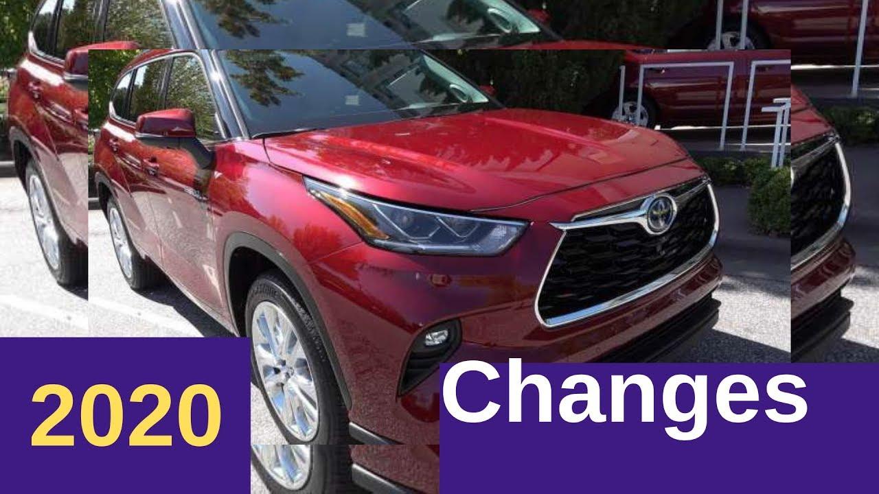 First Look At 2020 Toyota Highlander Hybrid Limited Interior