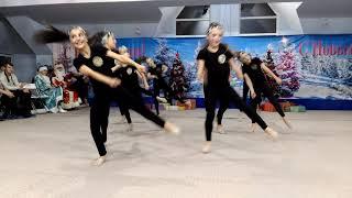 Новогоднее выступление 22 декабря 2018, Краснодар, Аура, команда Маренго.