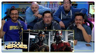 Marvel Studios' Ant-Man and The Wasp | Official Trailer Reaction - Hyper Heroes
