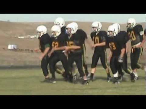 Sunridge Middle School - Bower to Bynum TD Pass - 7th grade