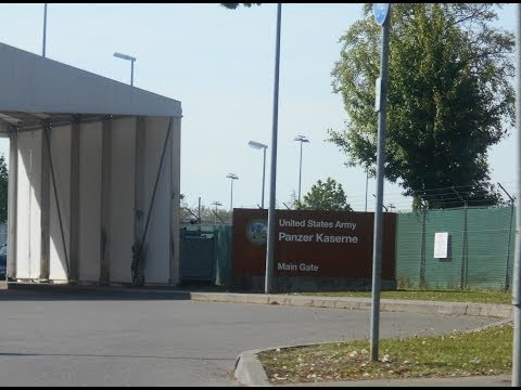 Panzer Kaserne US Army Base in Boblingen, Germany