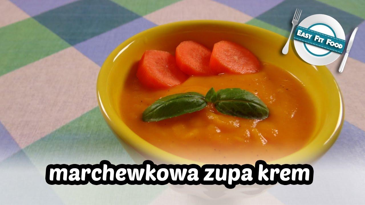 Marchewkowa Zupa Krem Easyfitfood
