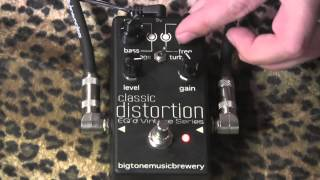 Big Tone Music Brewery CLASSIC DISTORTION demo with PureSalem Jimmy