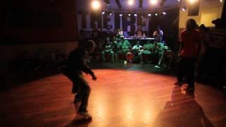 IBE 2012 - Solo Top Rock Battle - Semi Final 1