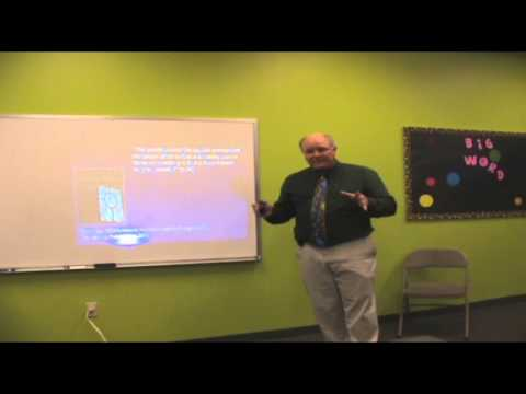 Bill McKeever speaks to the EMNR conference April 12, 2013