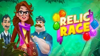 Match 3 Games - Relic Race Android Gameplay ᴴᴰ