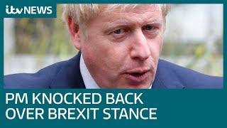 Boris Johnson faces European backlash over Brexit plan | ITV News
