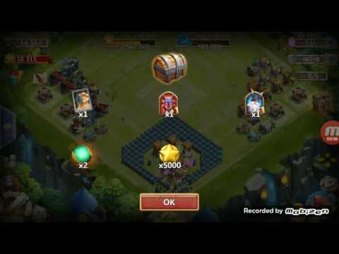 Opening Tons Of Lucky Chests! ~ Castle Clash