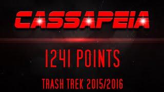 FLL Trash Trek 1241 Points with Cooperation!   CASSAPEIA & GO ROBOT