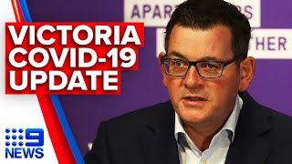 Coronavirus: Victoria Premier announces 403 new cases | 9 News Australia