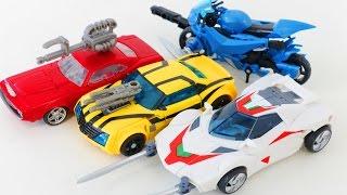 Transformers Prime Bumblee Arcee Wheeljack Cliffjumper  Vehicle Car Toys 트랜스포머 프라임 자동차 장난감 로봇 변신 동영