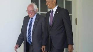 Obama blames Bernie Sanders for hurting the Affordable Care Act