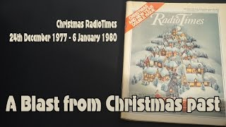 Christmas Radio Times from 1977