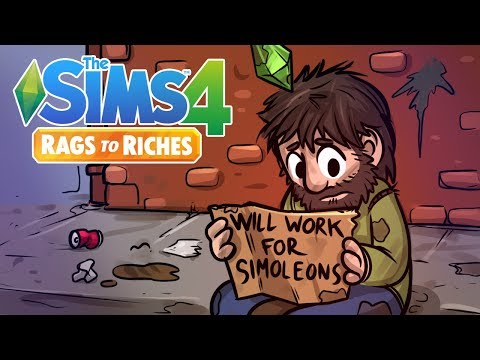 "Homeless | Sims 4 Rags to Riches Ep.1 ""The Sims 4 Lets Play"""