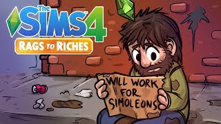 Homeless | Sims 4 Rags to Riches Ep.1