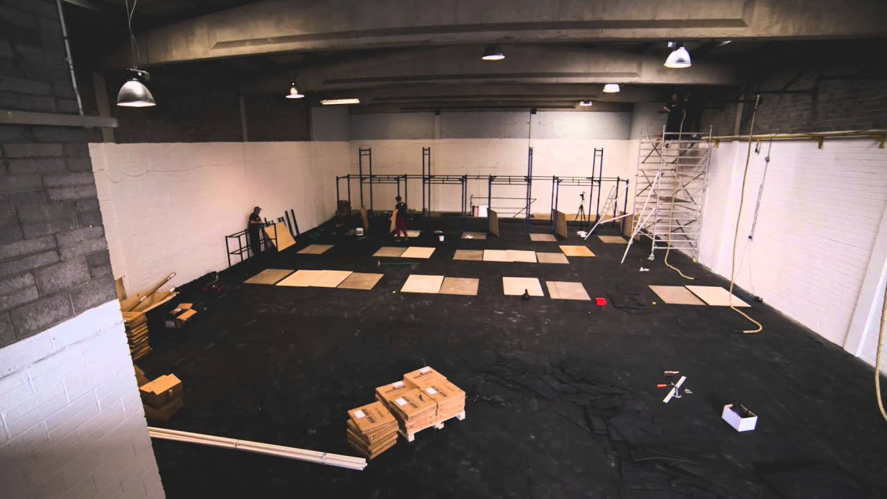 CrossFit Ireland Gym Design Fit Out From BLK BOX